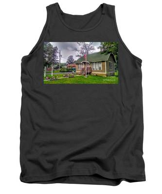 The Old Library At Beavertown Tank Top