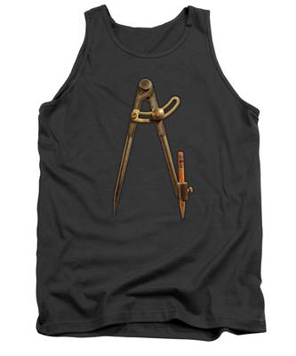 Old Paper Tank Tops