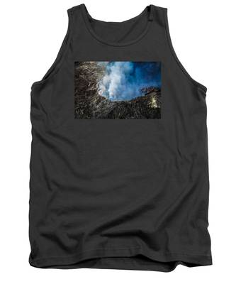 Another View Of The Kalauea Volcano Tank Top