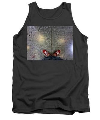 Waiting For Clown School Tank Top