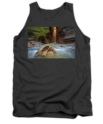 Wall Street Of The Narrows Tank Top