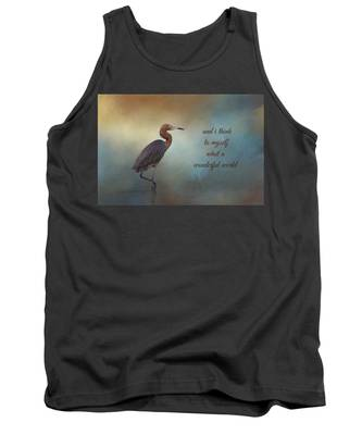 What A Wonderful World Tank Top