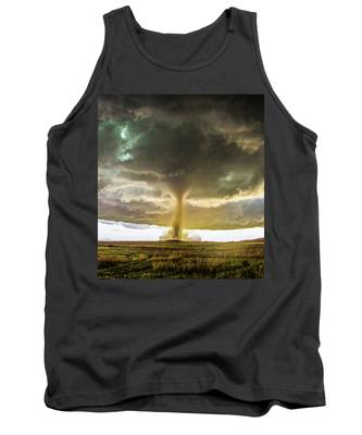 Tank Top featuring the photograph Wray Colorado Tornado 070 by NebraskaSC