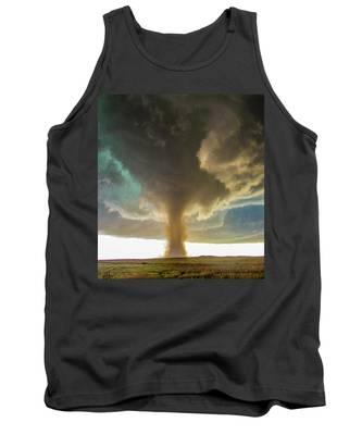 Tank Top featuring the photograph Wray Colorado Tornado 079 by NebraskaSC