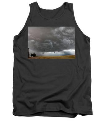 August Thunder 020 Tank Top by Dale Kaminski