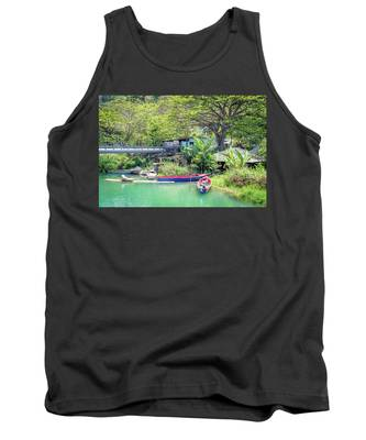 Boat And Rafting Tours Tank Top