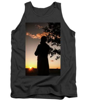Corby At Sunset Tank Top
