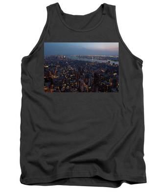 Dusk On New York City Tank Top