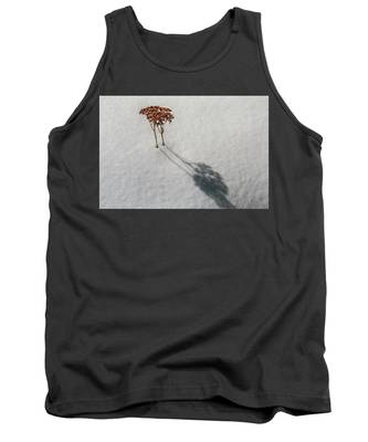 Long Shadow Of Winter Tank Top