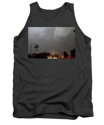 Mangum Oklahoma Tornado 020 Tank Top by Dale Kaminski