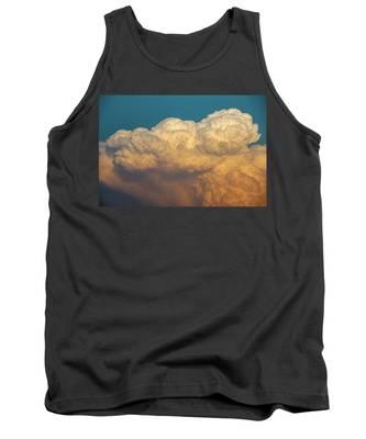 Tank Top featuring the photograph Nebraska Sunset Thunderheads 053 by NebraskaSC
