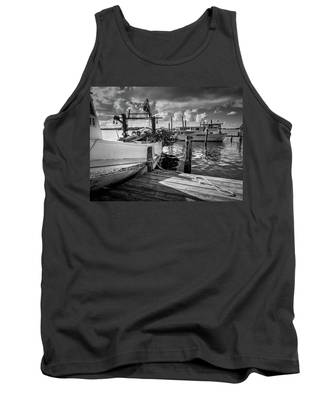 Ready To Go In Bw Tank Top