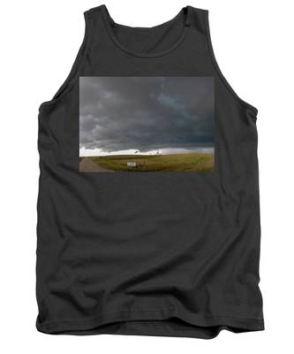 Tank Top featuring the photograph Storm Chasin In Nader Alley 016 by NebraskaSC