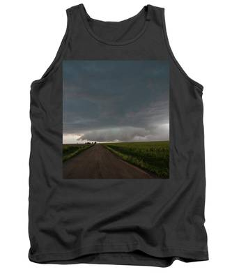 Tank Top featuring the photograph Storm Chasin In Nader Alley 025 by NebraskaSC