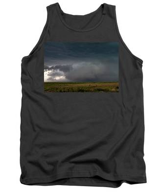 Tank Top featuring the photograph Storm Chasin In Nader Alley 030 by NebraskaSC