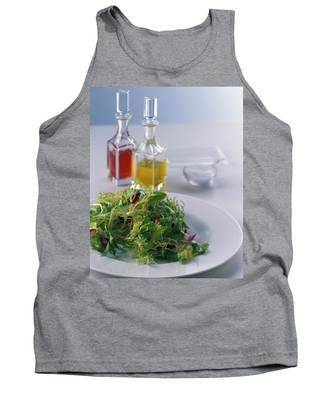 A Salad With Dressings Tank Top