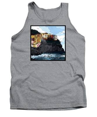 Manarola W/hidden Pictures Tank Top