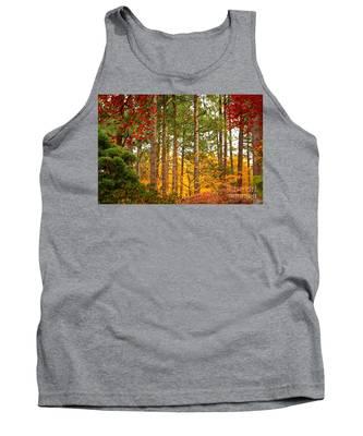 Autumn Canvas Tank Top