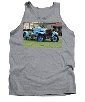 Blue Chevy  Tank Top