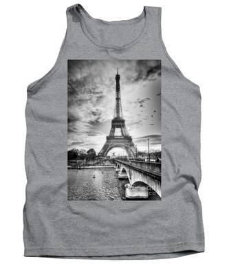 Bridge To The Eiffel Tower Tank Top