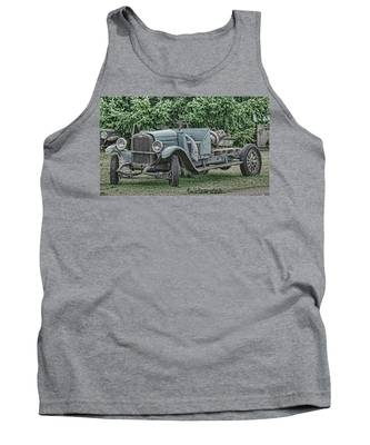 Chevy Truck By Ron Roberts Tank Top