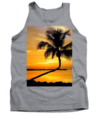 Crooked Palm Tank Top