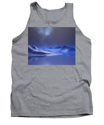 Midnight Snow Tank Top