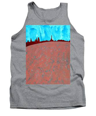 Needles And Dunes Original Painting Tank Top