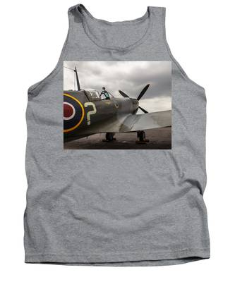 Spitfire On Display Tank Top
