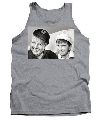 The Skipper And Gilligan Tank Top