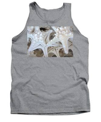 White Starfish Tank Top