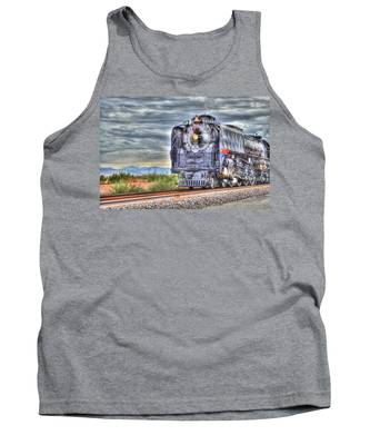 Steam Train No 844 Tank Top