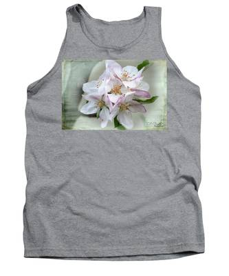 Apple Blossoms From My Hepburn Garden Tank Top