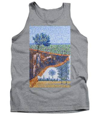 Behind The Canvas Tank Top
