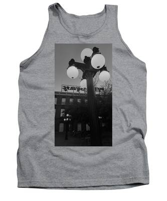 Black And White Ybor City Tank Top
