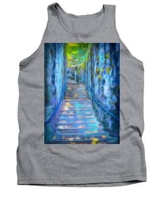 Blue Dream Stairway Tank Top