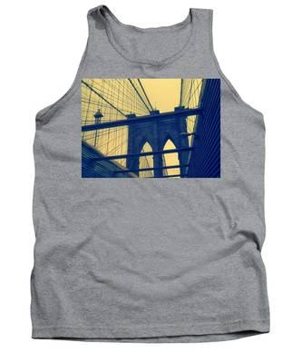 New York City's Famous Brooklyn Bridge Tank Top