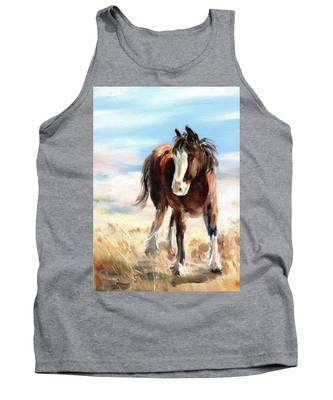 Clydesdale Foal Tank Top