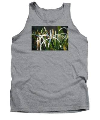 Early Morning Lily Tank Top