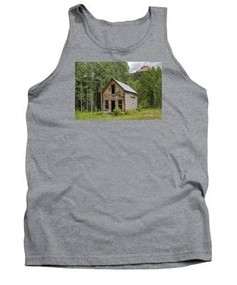 Ghost Town Schoolhouse Tank Top
