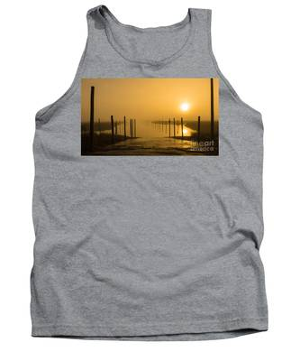 Golden Fog On The Nissequogue Tank Top