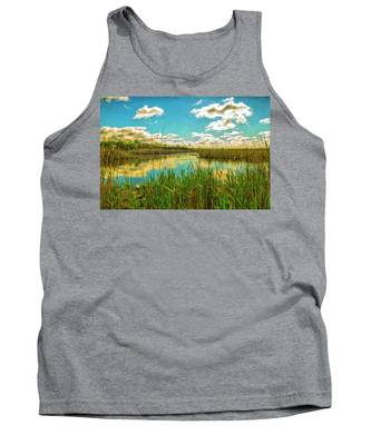 Gunnel Oval By Paint Tank Top