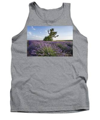 Lavender Provence  Tank Top by Juergen Held