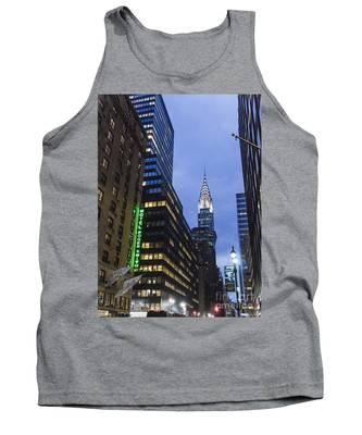 Lexington Avenue, Chrysler Building, New York  Tank Top by Juergen Held