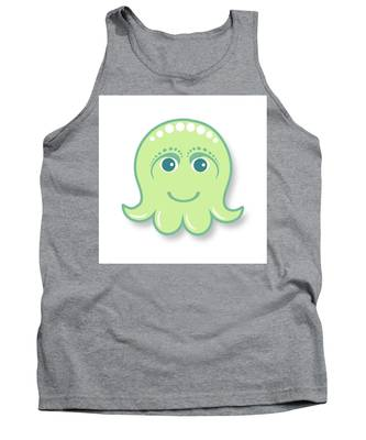 Designs Similar to Little cute green octopus