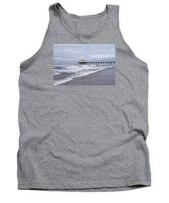 Manhattan Pier Surf And Waves Tank Top