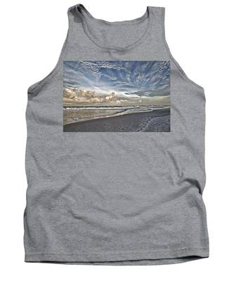 Morning Sky At The Beach Tank Top