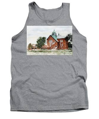 Oklahoma State University Old Central Tank Top