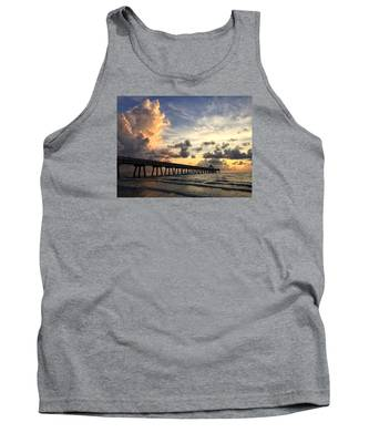 Pier On The Left Tank Top