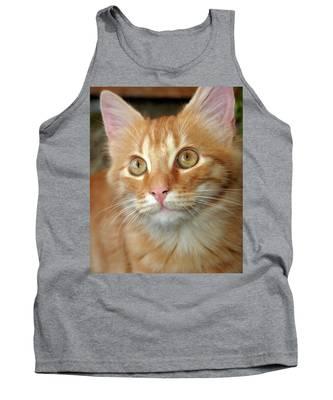 Portrait Of A Cat Tank Top